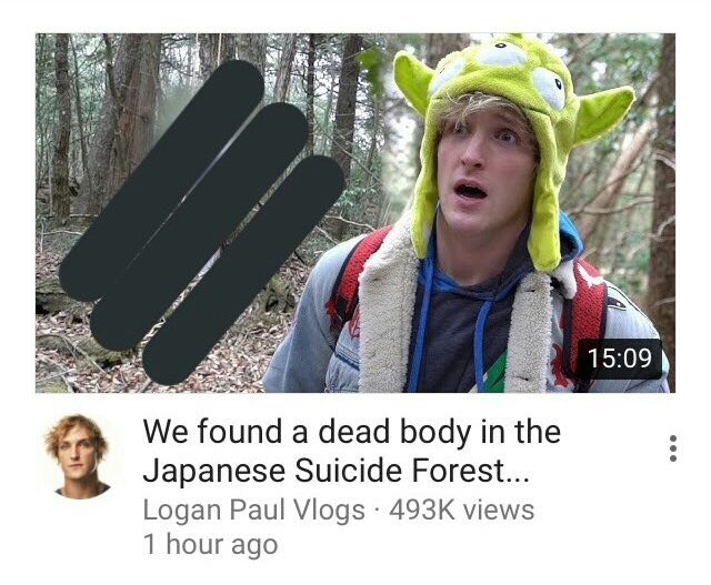 Il caso che ha sconvolto YouTube e i social ha come protagonista Logan Paul